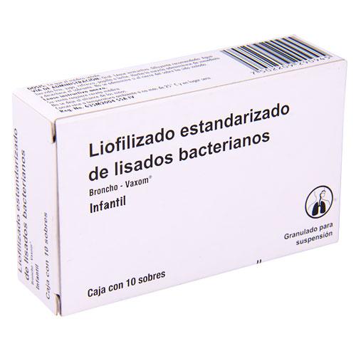 Comprar Broncho-Vaxom Lisados Bacterianos Inf 10Sob