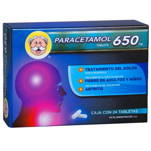 Comprar Paracetamol 650 Mg