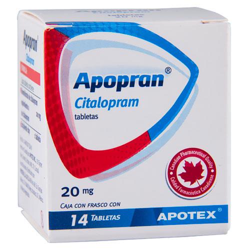 Comprar Escitalopram Apopran 20 Mg Citalopram 20 Mg