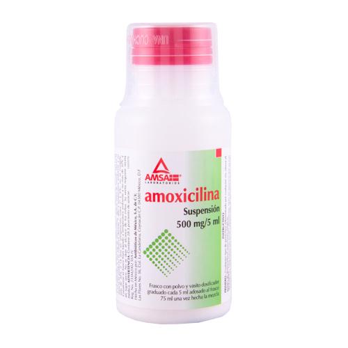 Comprar Amoxicilina Suspensión (500 mg)