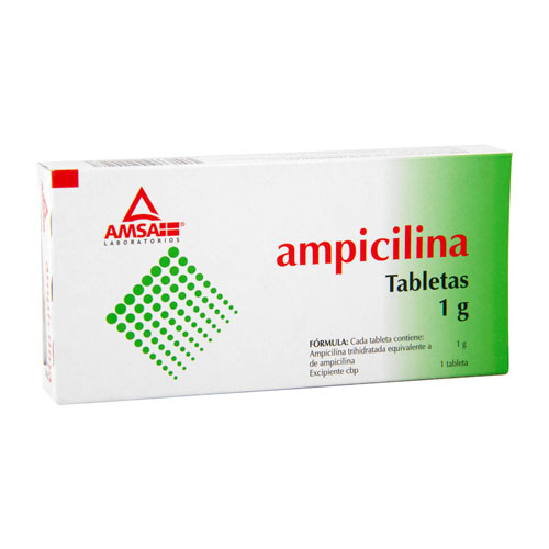 Comprar Ampicilina Caja De (1 G)