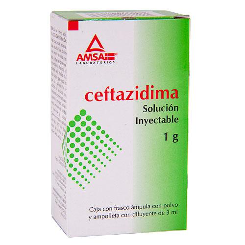 Comprar Ceftazidima Solución Inyectable (1G)