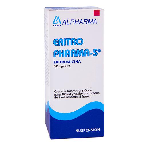 Comprar Eritro Pharma-s 1 Suspension (250 Mg/5 Ml)