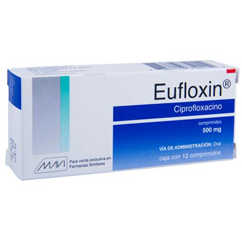 Comprar Eufloxin Ciprofloxacino (500 Mg)