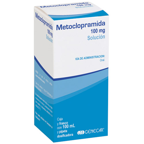 Comprar Metoclopramida Solución 100 Mg /