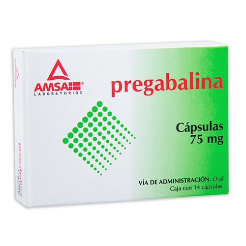 Comprar Pregabalina 75 Mg