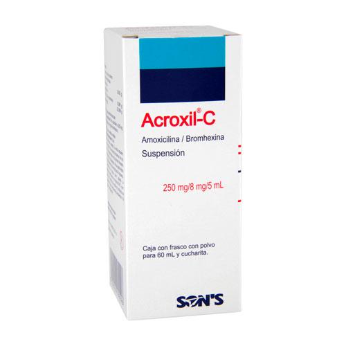 Comprar Acroxil-c Amox Bromhexina Susp