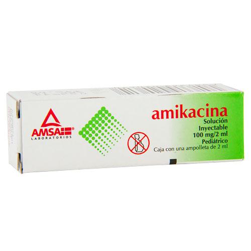 Comprar Amikacina Inyectable Suspension 1 (100 Mg/2Ml)