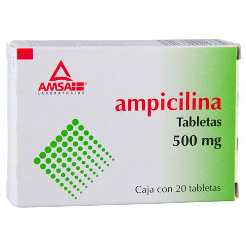 Comprar Ampicilina Caja De (500 Mg)