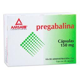 Pregabalina 150 Mg