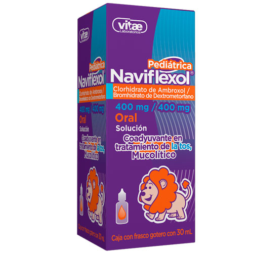 Comprar Naviflexol Pediátrico (400 Mg/400 Mg)