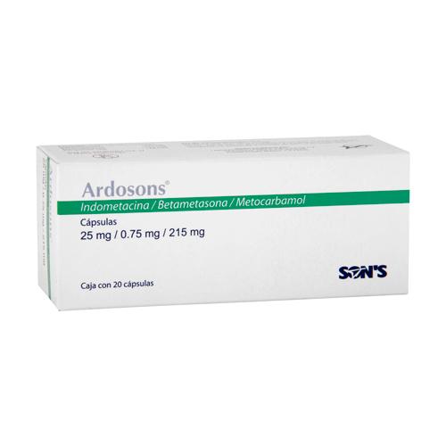 Comprar Indometacina/betame/meto