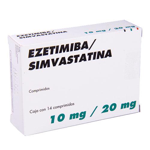 Comprar Ezetimiba/Simvas 10/ 20 Mg Msd