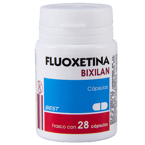 Comprar Fluoxac Fluoxetina 20 Mg