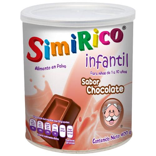 Comprar simirico alimento en polvo Infantil para niños sabor chocolate