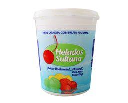Helado Mango en Agua Litro