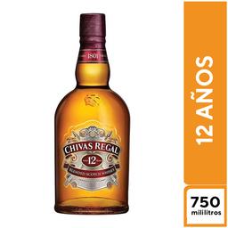 Chivas Regal 12 Años 750 ml