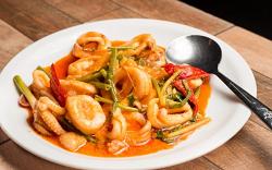Calamar curry