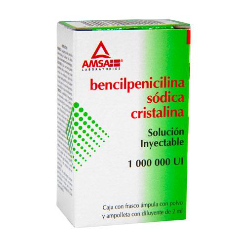 Comprar Bencilpenicilina Sodica Cristalina Inyectable 1 Suspension