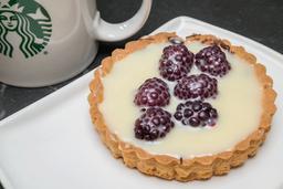 Latte Grande + Tartas de mora a precio Especial