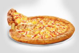 Pizza Súper Queso Hawaiana