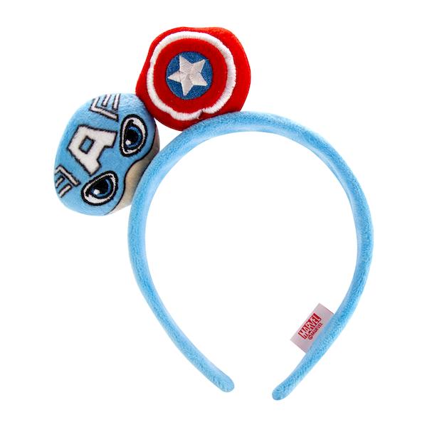 Diadema Mediana Capitán América Multicolor