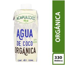 Acapulcoco Agua de Coco Orgánica 330 ml