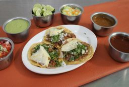 Tacos de Pastor Maíz