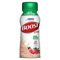 Boost Bebida Proteinica Alto en Proteina Sabor Fresa