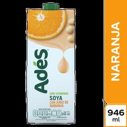 Ades Bebida a Base de Soya Con Jugo de Naranja