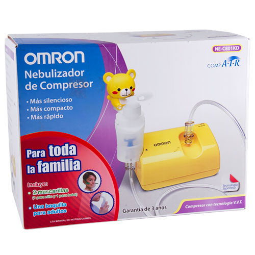 Comprar Omron Nebulizador De Compresor Para Adultos