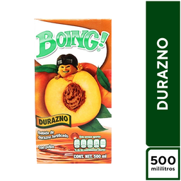 Boing Durazno 500 ml