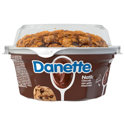 Natilla Danette Chocolate Con Galletas De Chocochispas 135G