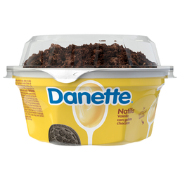 Natilla Danette Vainilla Con Galletas De Chocolate 135G
