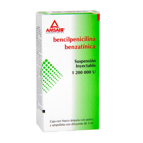 Comprar Benzatina Bencilpenicilina Inyectable 1 Suspension