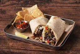 Burrito Trompo de Adobada