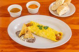 Omelette con Cochinita