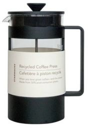 Cafetera prensa francesa de plástico Vidrio