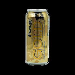 Four Loko Cooler  Gold Latón