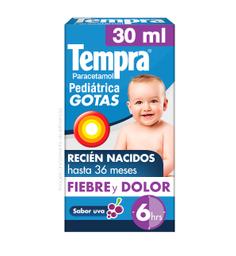 Tempra Infantil Pedia Trico Solucion Gotero Paracetamol 10 G