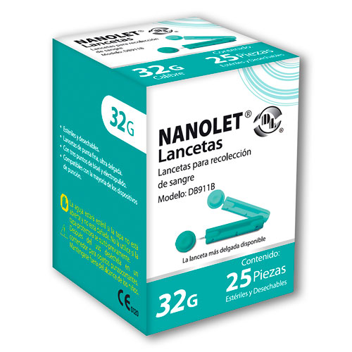 Comprar Lancetas Nanolet