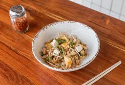 Medio Pad Thai de Pollo