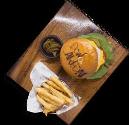 Peperoni Cruji Pollo Burger