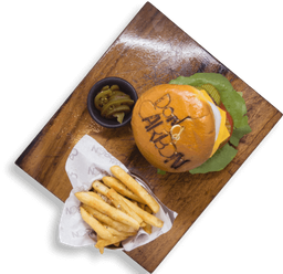 Pollo Cheese Burger