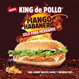 King de Pollo Mango Habanero