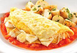 Omelette de Tres quesos