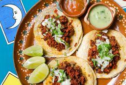 Tacos de Chorizo (3)