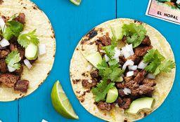 Tacos de Bistec con Queso (3)