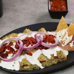 Enchiladas Verdes de Pastor