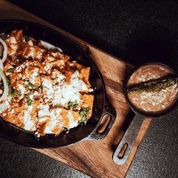 Chilaquiles en Salsa de Chipotle